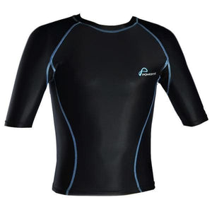 POWERTITE KID YOUTH ACTIVE COMPRESSION PERFORMANCE TOP SKINS SHORT SLEEVES TOP