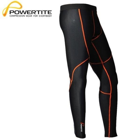 POWERTITE MEN COMPRESSION PERFORMANCE TIGHTS SKINS PANTS - SIZE SMALL - sweatcentral