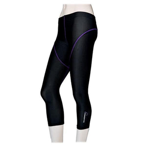 POWERTITE WOMEN COMPRESSION PERFORMANCE TIGHTS SKINS QUARTER PANTS - Size XXL