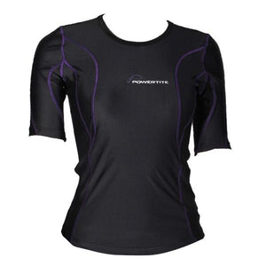 POWERTITE WOMEN COMPRESSION PERFORMANCE TIGHTS SKINS SHORT SLEEVES TOP