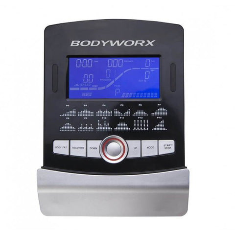 Image of BODYWORX ABX450AT PROGRAMMABLE MAG UPRIGHT EXERCISE BIKE 8KG FLYWHEEL - sweatcentral