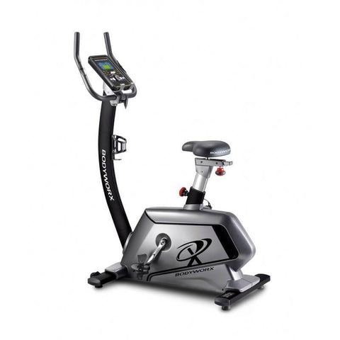 Image of BODYWORX ABX600 CARDIO UPRIGHT EXERCISE BIKE PROGRAMMABLE 32 LEVELS 9KG FLYWHEEL - sweatcentral