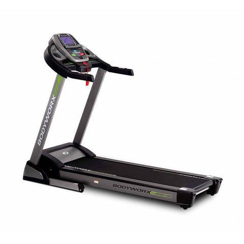 BODYWORX COLORADO 200 TREADMILL 2.0CHP RUNNING MACHINE JOGGING WALKER - sweatcentral
