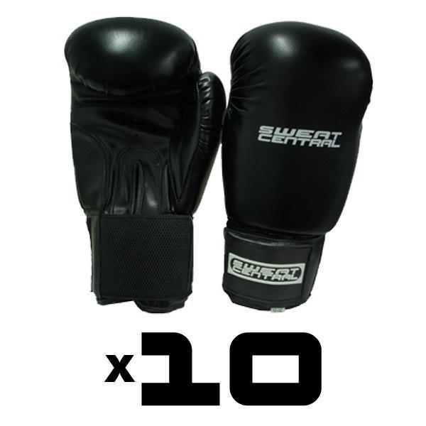 10x FULL SIZE BOXING BAG GLOVES PERSONAL TRAINING PACK - sweatcentral