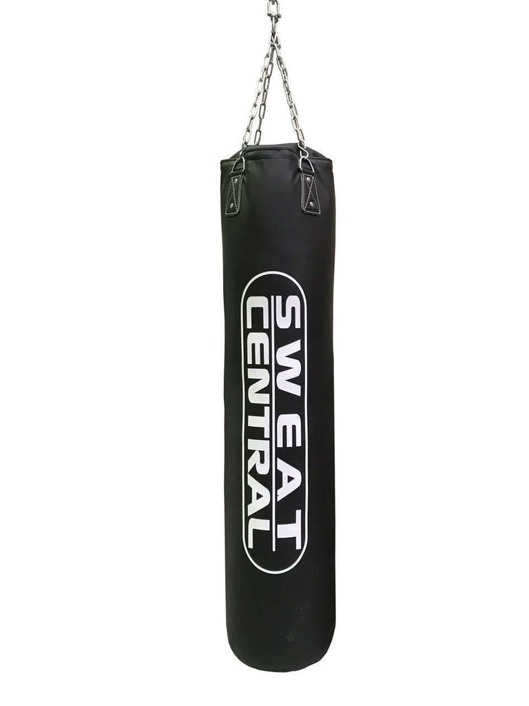 5FT UNFILLED  BOXING PUNCHING BAG INCL D BRACKET HOOK - sweatcentral