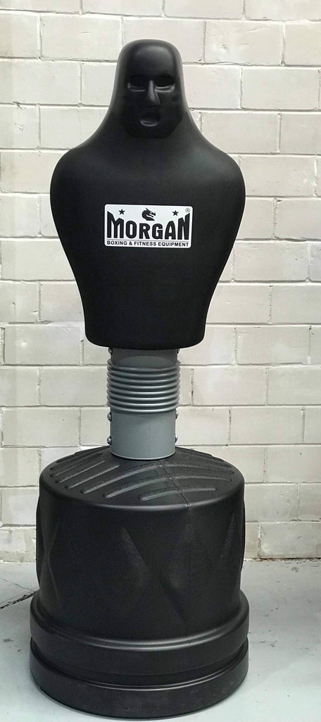 BOB MAN PUNCHING BAG KICK BOXING MMA DUMMY MAN FREE STANDING - sweatcentral