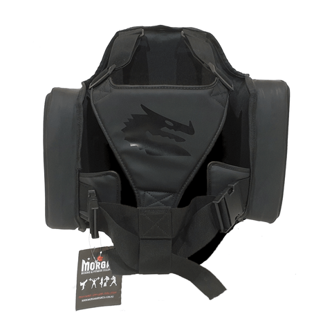 BOXING PROFESSIONAL PLATINUM BODY PROTECTOR | BELLY PAD | CHEST GUARD - sweatcentral
