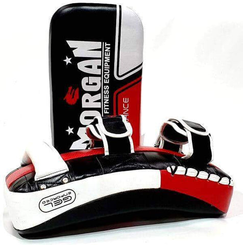 Image of Gel Injected Target Thai Pads Kickboxing Set - sweatcentral
