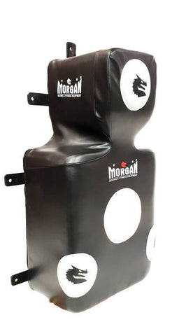 Image of HEAVY DUTY FREE STANDING WALL MOUNTED BOXING BAG UPPER CUT PUNCHING BAG FOCUS MASTER - sweatcentral