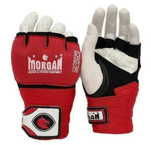 HYBRID MMA BOXING UFC GEL GRAPPLING HAND WRAPS GLOVES - sweatcentral