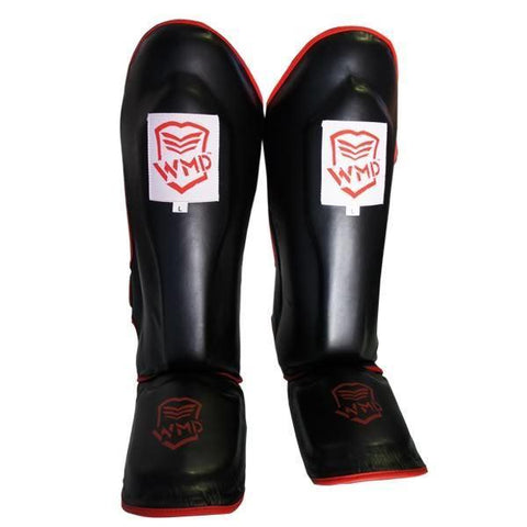 KICK BOXING MMA SHIN GUARDS SHINGUARD INSTEP LEG PADS - sweatcentral