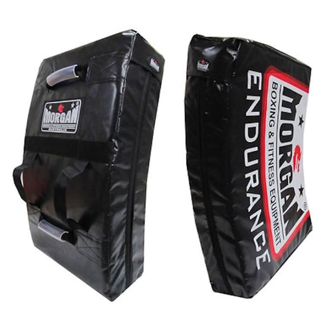 Image of MMA KICK BOXING ENDURANCE PRO-XL CURVED PUNCH KICK SHIELD HIT & STRIKE PAD - sweatcentral