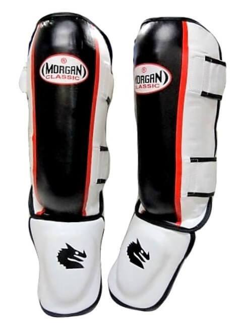 MORGAN CLASSIC KICK BOXING MMA SHIN GUARDS SHINGUARD INSTEP LEG PADS - sweatcentral