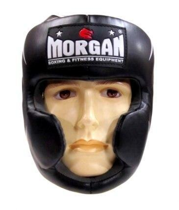 MORGAN ENDURANCE FULL FACE HEAD GUARD HEAD GEAR PROTECTIVE GEAR - sweatcentral
