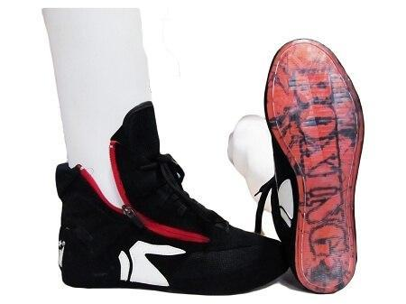 Image of MORGAN ENDURANCE PRO BOXING BOOTS WRESTLING SHOES - sweatcentral