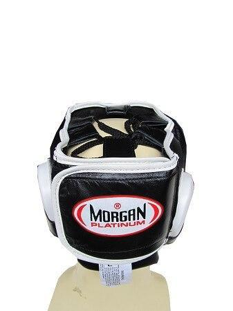 Image of MORGAN NOSE PROTECTOR LEATHER SPARRING HEAD GUARD HEAD GEAR PROTECTIVE GEAR - sweatcentral