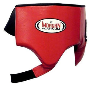 MORGAN PLATINUM LEATHER ABDO GUARD BOXING PROTECTIVE