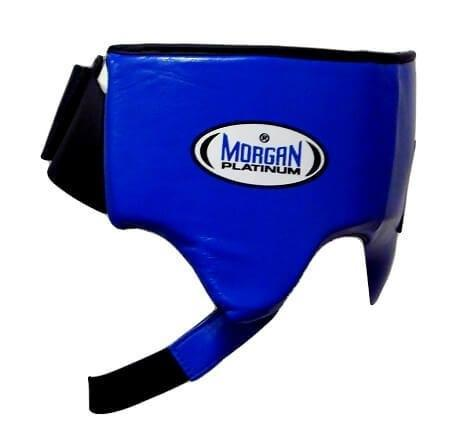 Image of MORGAN PLATINUM LEATHER ABDO GUARD BOXING PROTECTIVE - sweatcentral