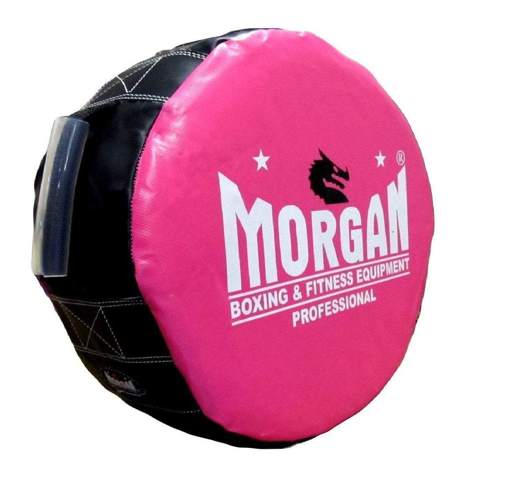 MORGAN ROUND PUNCH KICK SHIELD WITH HANDLES - sweatcentral