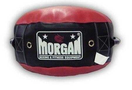 Image of MORGAN ROUND PUNCH KICK SHIELD WITH HANDLES - sweatcentral
