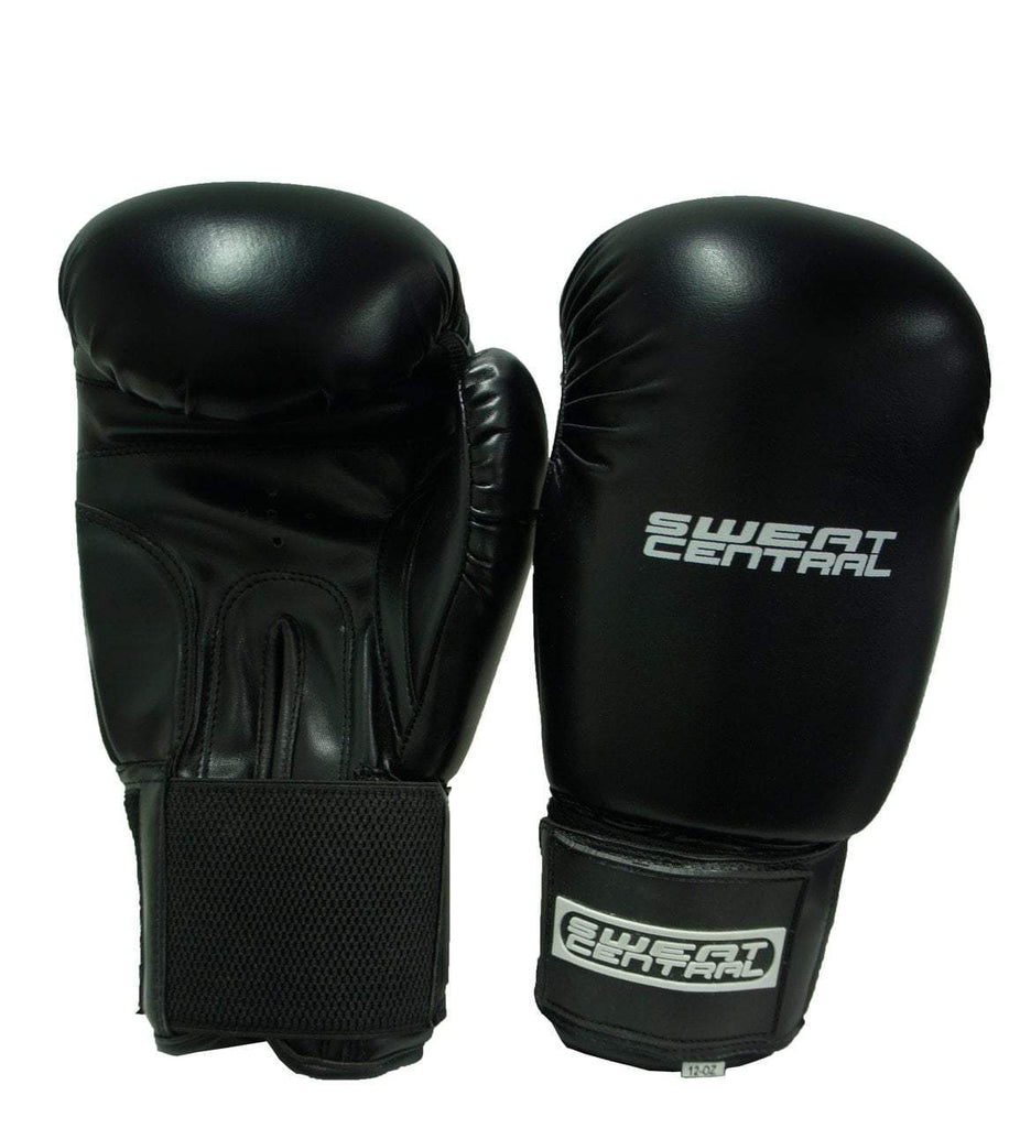 SWEAT CENTRAL BOXING KICKBOXING PUNCHING BAG SPARRING GLOVES - sweatcentral