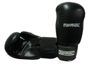 SWEAT CENTRAL BOXING KICKBOXING PUNCHING BAG SPARRING GLOVES