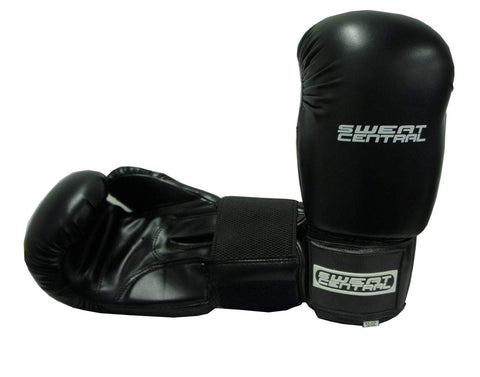 Image of SWEAT CENTRAL BOXING KICKBOXING PUNCHING BAG SPARRING GLOVES - sweatcentral