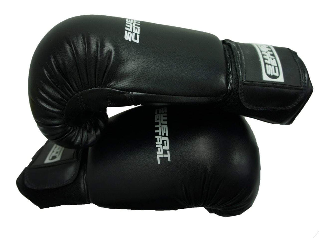 Boxing & MMA SWEAT CENTRAL BOXING KICKBOXING PUNCHING BAG SPARRING GLOVES sweat central