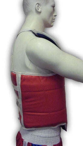 Image of TAEKWONDO REVERSIBLE WTF OLYMPIC CHEST GUARD TAE KWON DO KARATE - sweatcentral
