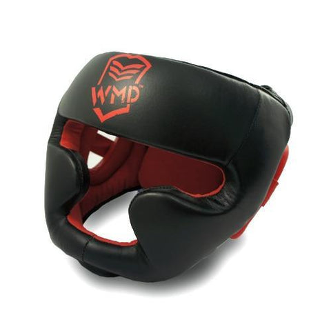 WMD Generals Leather Pro Boxing Head Guard Gear - sweatcentral