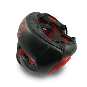 WMD Generals Leather Pro Boxing Head Guard Gear