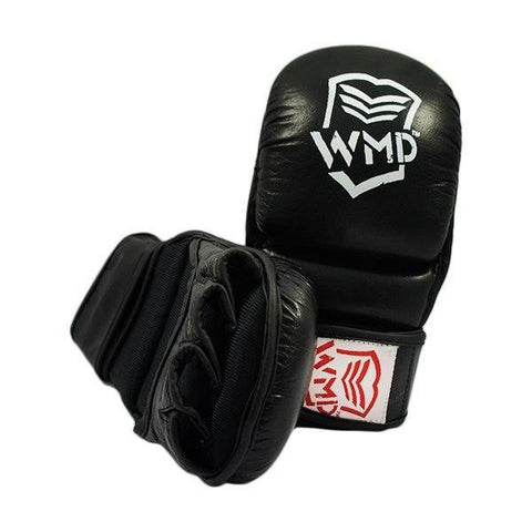 Image of WMD HYBRID BOXING GLOVES OPEN PALM TRAINING GLOVES UFC MMA KICK GRAPPLING BJJ - sweatcentral