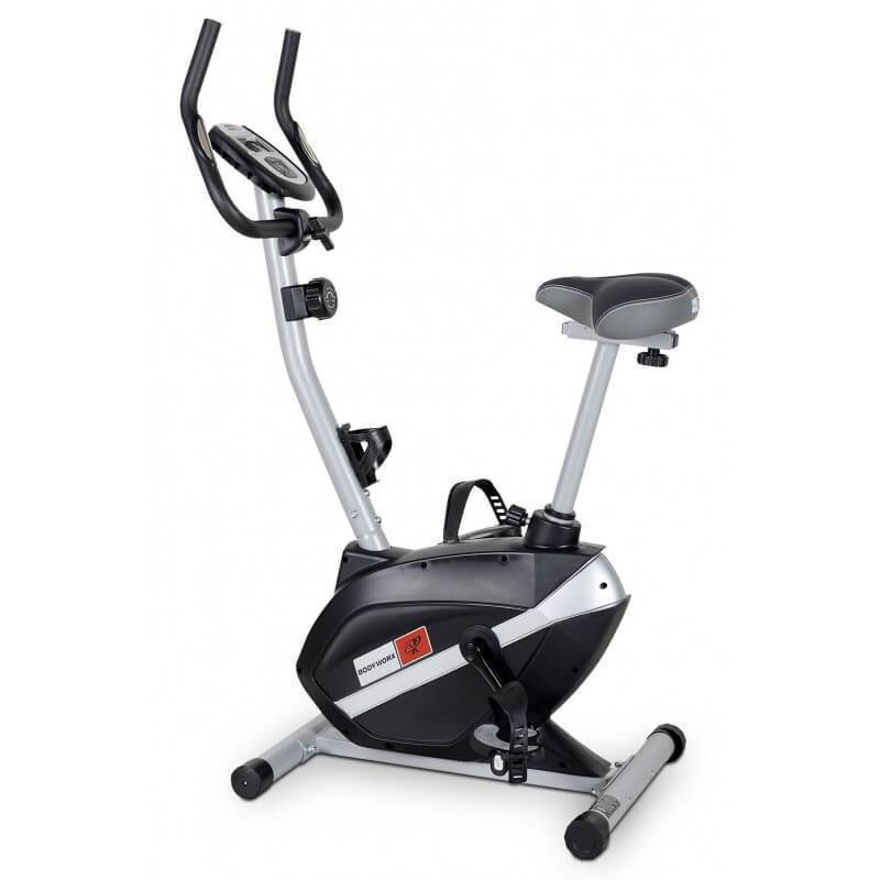 BODYWORX AB170M MANUAL MAG UPRIGHT EXERCISE CARDIO BIKE 5KG FLYWHEEL - sweatcentral
