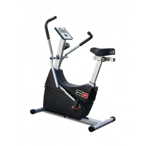 Image of BODYWORX ABW300 DUAL ACTION CARDIO GYM UPRIGHT BIKE - sweatcentral