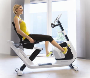 HORIZON COMFORT R RECUMBENT CARDIO EXERCISE BIKE - sweatcentral