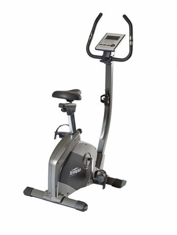 Cardio Equipment TEMPO U3500 EXERCISE UPRIGHT BIKE 16 LEVELS 7KG FLYWHEEL sweat central
