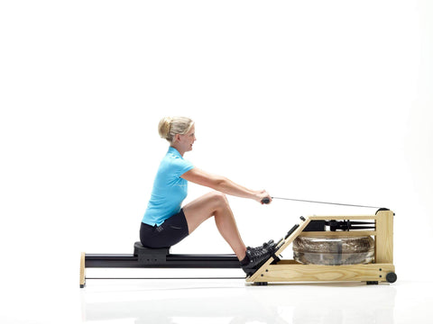 Image of WATERROWER A1 HOME ROWING MACHINE INDOOR CARDIO WATER ROWER - MADE IN USA - sweatcentral