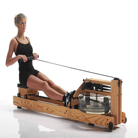 WATERROWER NATURAL INDOOR ROWING MACHINE CARDIO WATER ROWER USA MADE - sweatcentral