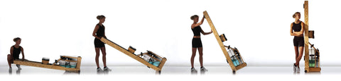 Image of WATERROWER NATURAL INDOOR ROWING MACHINE CARDIO WATER ROWER USA MADE - sweatcentral