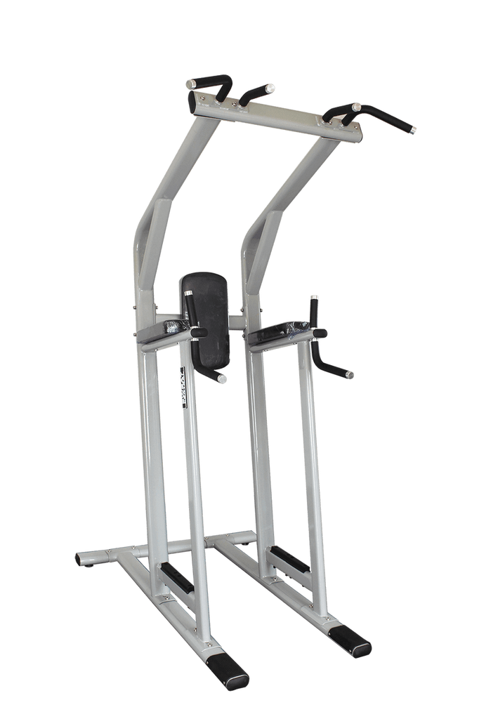 COMMERCIAL POWER TOWER ROMAN CAPTAIN CHAIR LEG RAISE DIPS PULL CHIN UPS - sweatcentral