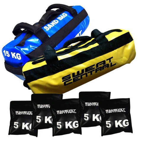 10KG & 15KG SAND BAG POWERBAGS BUNDLE - sweatcentral