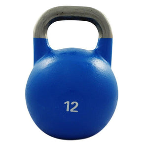 12KG COMPETITION PRO GRADE STEEL KETTLEBELL KETTLE BELL GYM WEIGHT - sweatcentral