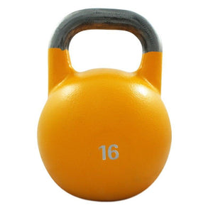 16KG COMPETITION PRO GRADE STEEL KETTLEBELL KETTLE BELL GYM WEIGHT - sweatcentral