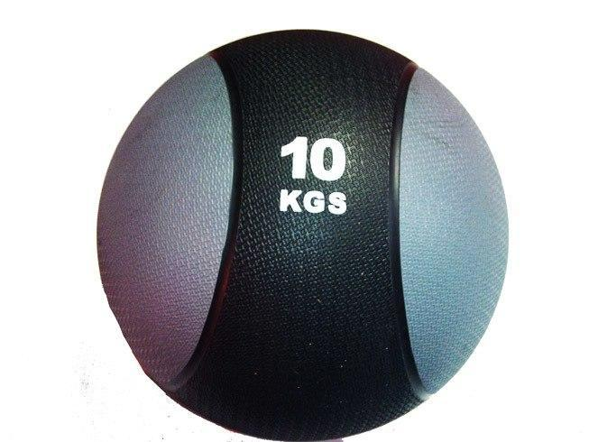 2-Tone Commercial Medicine Ball - 10kg - sweatcentral