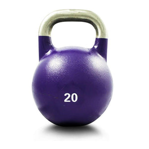 20KG COMPETITION PRO GRADE STEEL KETTLEBELL KETTLE BELL GYM WEIGHT - sweatcentral