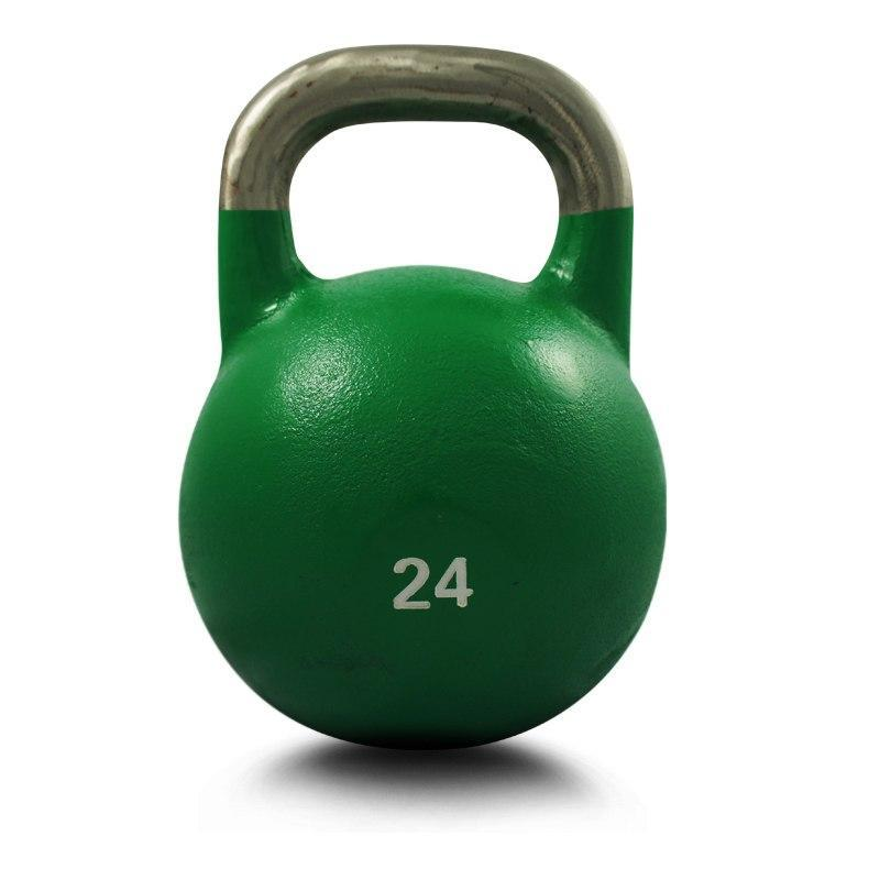 24KG COMPETITION PRO GRADE STEEL KETTLEBELL KETTLE BELL GYM WEIGHT - sweatcentral