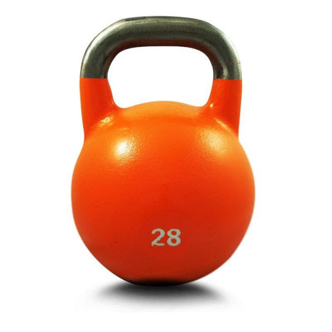 28KG COMPETITION PRO GRADE STEEL KETTLEBELL KETTLE BELL GYM WEIGHT - sweatcentral