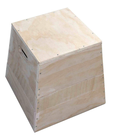 3 IN 1 TRAPEZIA WOODEN PLYOMETRIC PLYO BOX - sweatcentral