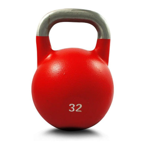32KG COMPETITION PRO GRADE STEEL KETTLEBELL KETTLE BELL GYM WEIGHT - sweatcentral