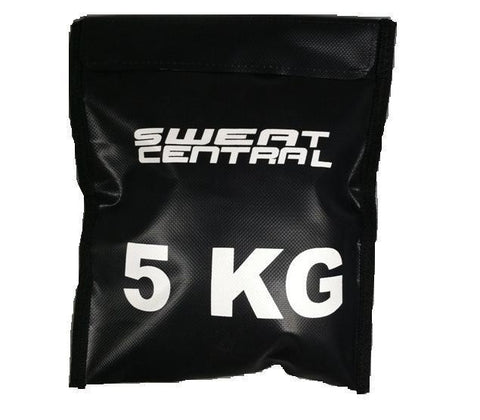 35kg CROSS TRAINING SAND BAG STRENGTH TRAINING WEIGHT REFILLABLE 5KG  POWERBAG - sweatcentral